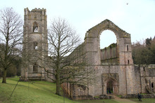 Ruins Of Fountains Abbey In Ri...