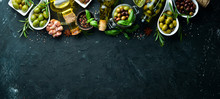 Olive Oil, Olives And Spices O...
