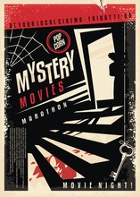 Mystery Movies Cinema Poster D...