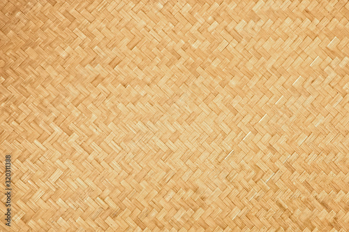 Canvastavla Handcraft natural woven bamboo texture background