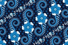 Seamless Pattern With Floral V...