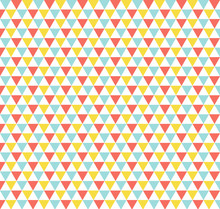 Triangle Pattern. Abstract Geo...