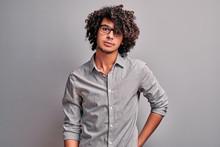 Confident Arabian Handsome Boy...