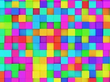 Colorful Spectrum Rainbow Cube...