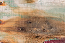 Peeled Paint Over Wood Boards ...