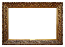 Picture Gold Wooden Frame For ...