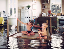 Kids And Flooding