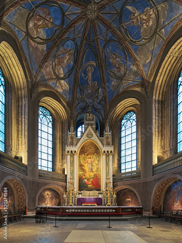 Photo Apse and altar of Turku Cathedral, Finland