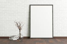 Blank Vertical Poster Frame Mo...