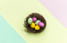 Multi Coloured Easter Egg Choc...