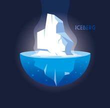 Full Big Iceberg Floating In I...