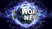 World News Report Spot With Wo...