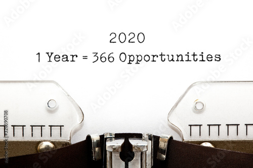 Cuadros en Lienzo 1 Leap Year 2020 Equal To 366 Opportunities