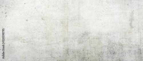 Obraz White grungy concrete wall as background - fototapety do salonu