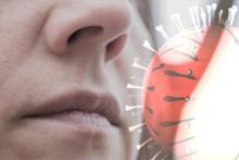 Inhaling Virus Through Airborn...