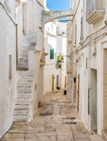 Scenic sight in the little town of Cisternino, Province of Brindisi, Apulia (Puglia), Italy.