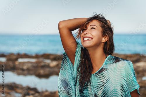 Fototapeta Summer Sun And Happy Smiles obraz