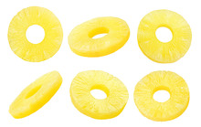 Pineapple Slice, Ring, Isolate...