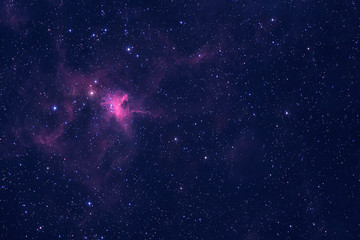 Beautiful galaxy with stars in bright colors. Elements of this image were furnished by NASA.