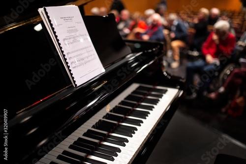 Photo Partition sur un piano