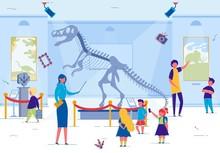 Museum Excursion For School Or Preschool Kids.