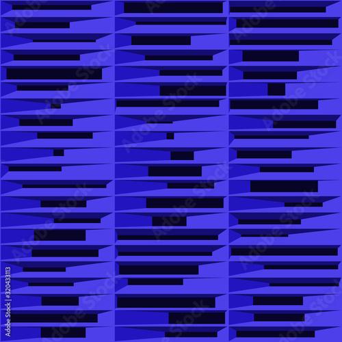 Photo Abstract Structure Blocks Generative Art background illustration
