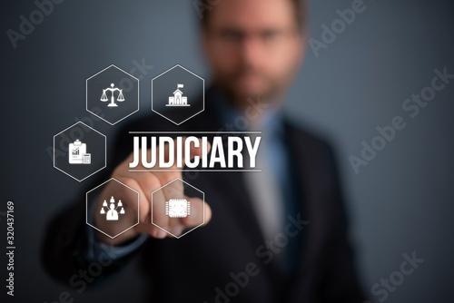 Judiciary Wallpaper Mural