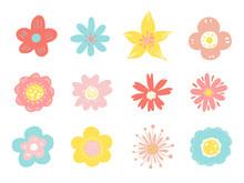 花のイラストセット