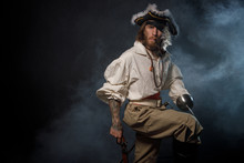 Portrait Of Pirate Filibuster ...