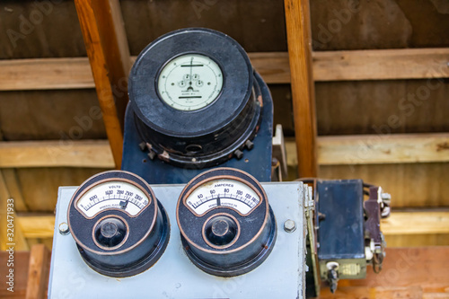 Photo One of the first electricity measuring instruments