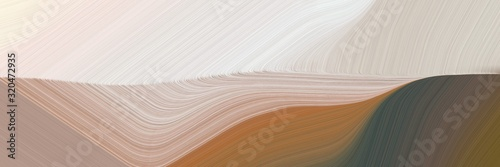 banner background texture with light gray, dark olive green and pastel brown col Poster Mural XXL