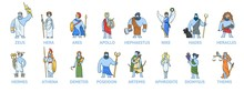 Pantheon Of Ancient Greek Gods...