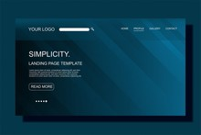 Modern Landing Page Template,c...