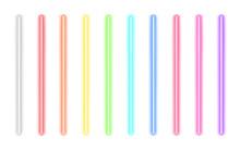 Neon Glow Sticks. Fluorescent ...