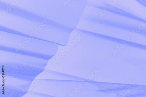 Purple violet gradient background with paper waves