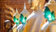 Golden And Emerald Buddha Stat...