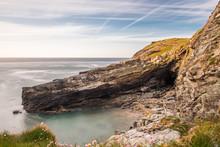 Tintagel Barras Nose Coastline...