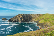 Views From Tintagel Towards Bossiney Haven