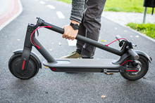 Electro Scooter. Ecological. Y...