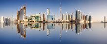 Cityscape Of Dubai And Panoram...