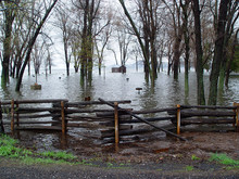 A Flood On Lake Champlain