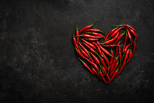 Spicy Red Chili Pepper In The ...