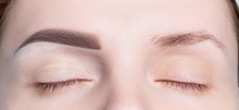 Female Eyebrows Before And Aft...