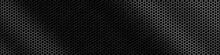 Hexagonal Metal Grid Texture - Background
