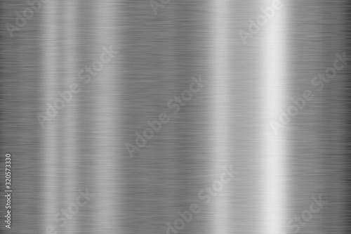 Photo Brushed metal texture - background concept