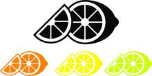 Lemon Icon ,vector Illustration