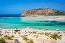 Balos Beach And Gramvousa Isla...