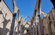 Leinwanddruck Bild - The Carmo Convent in Lisbon, Portugal.