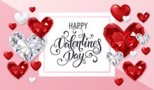 Beautiful Gemstone Heart For V...