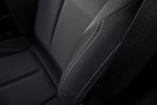 2017 BMW 1 Series Front Seat Stitching